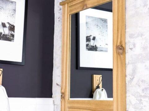 DIY Cedar Framed Mirror