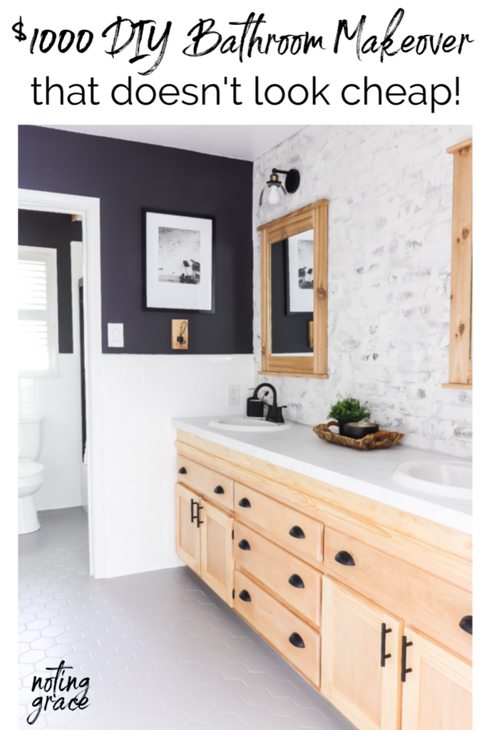 1000 Diy Bathroom Makeover That Doesn, Updating A Bathroom On A Budget