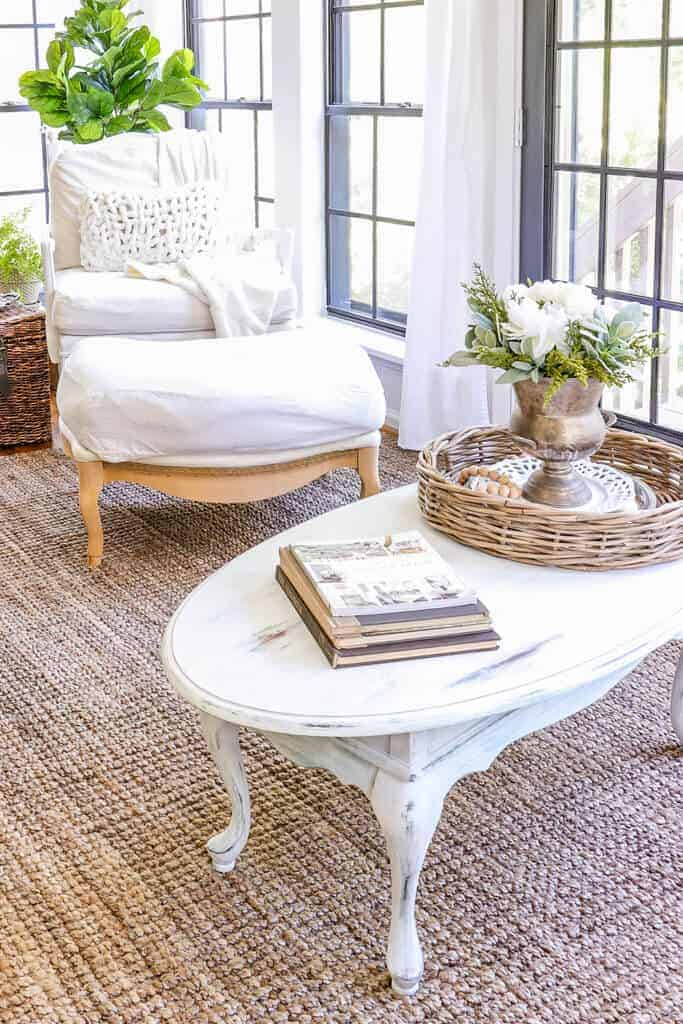 Quick Coffee table makeover