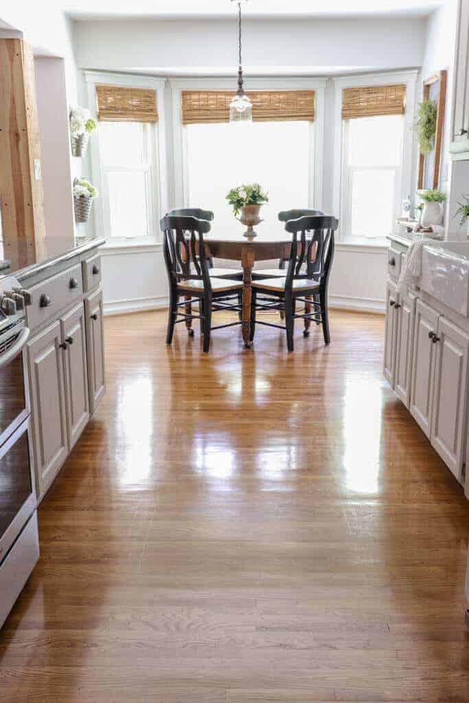 easy diy hardwood floor restore