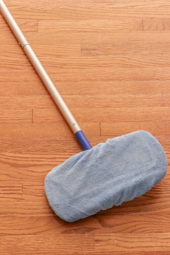 rejuvenate microfiber bonnet on old mop