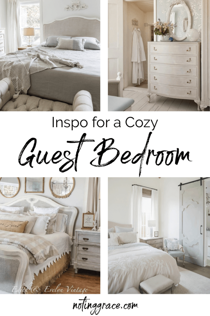 Inspo for a Cozy Guest Bedroom