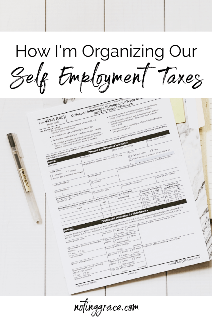 Pin to save time self employment taxes