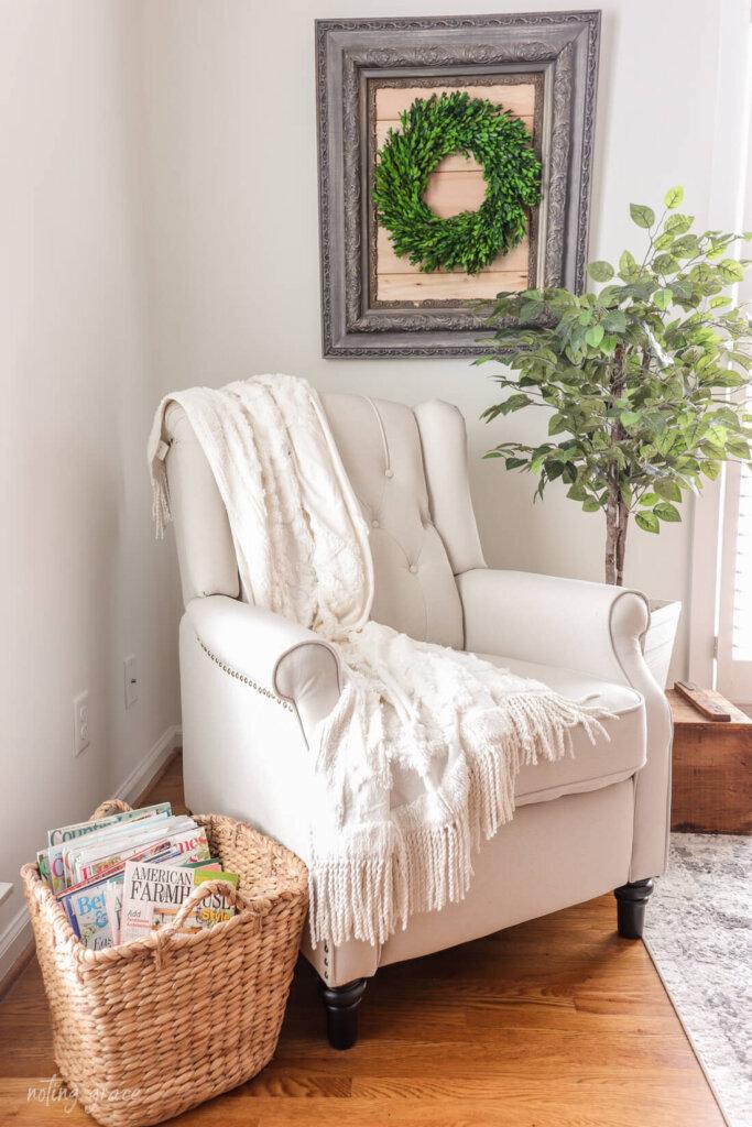 armchair recliner from Wayfair
