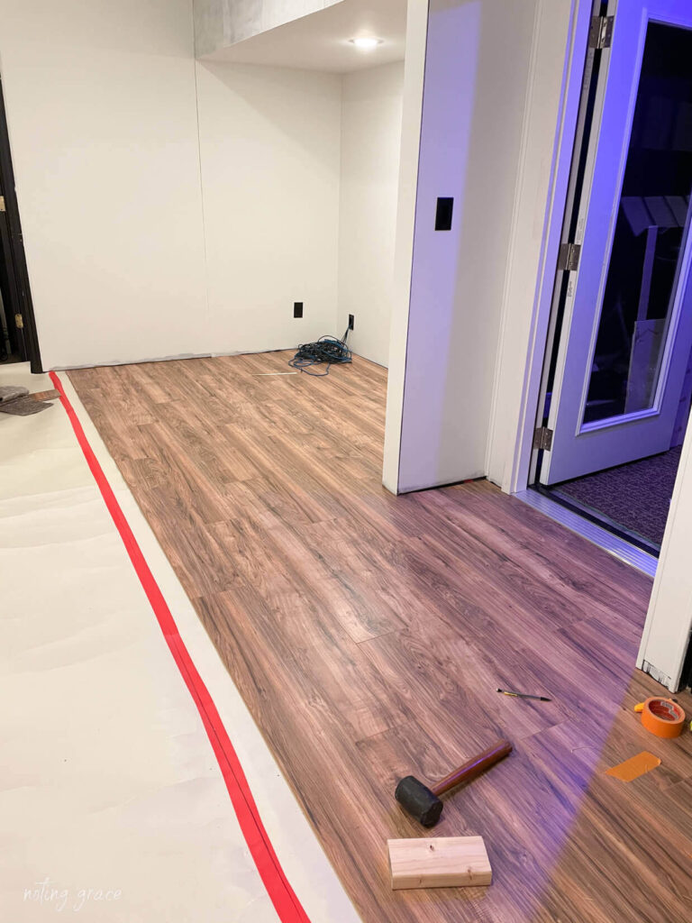 Install Laminate Flooring Over Concrete, How To Install Laminate Flooring On Concrete