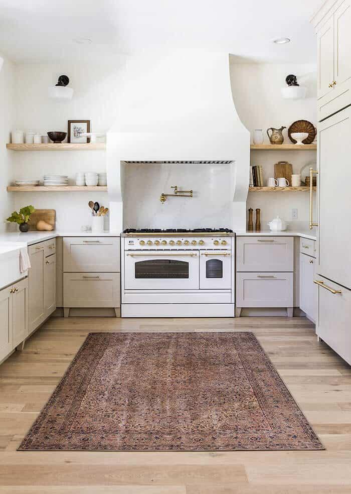 Dream European Farmhouse kitchen inspiration from Jenna Sue Designs