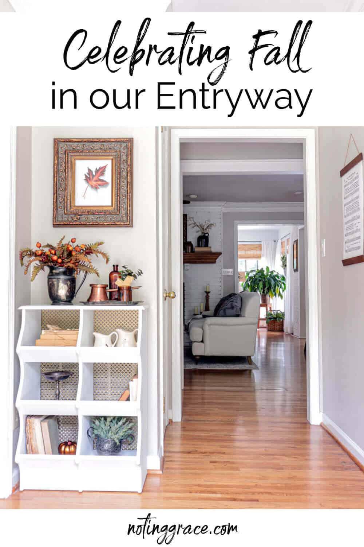 fall entryway pin image