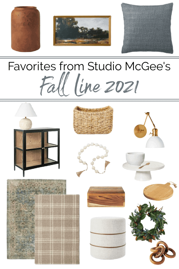 Fall Favorites from Studio McGee Fall Line 2021