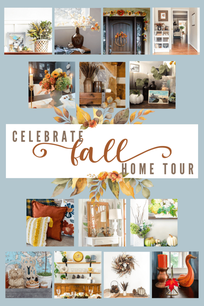Blog Hop Celebrating Fall in our Entryway